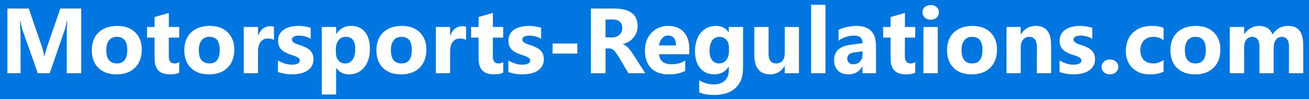 Motorsports-Regulations.com